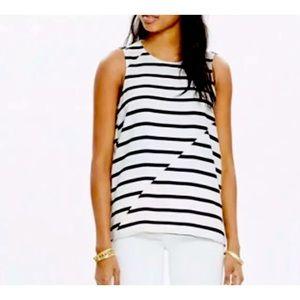 Madewell Stripe Sleeveless Top XXS